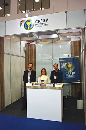 Estande do CRF-SP na FCE Pharma