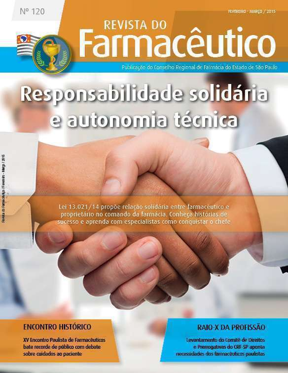 Revista do Farmacêutico 120 (foto: Ingimage / arte: Ana Laura Azevedo)