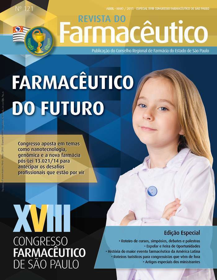Revista do Farmacêutico 121 (foto: Ingimage / arte: Ana Laura Azevedo)